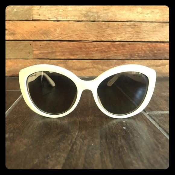 "19d976e489ea6 kate spade Accessories - Kate Spade ""Sherrie"" Sunglasses off-white"